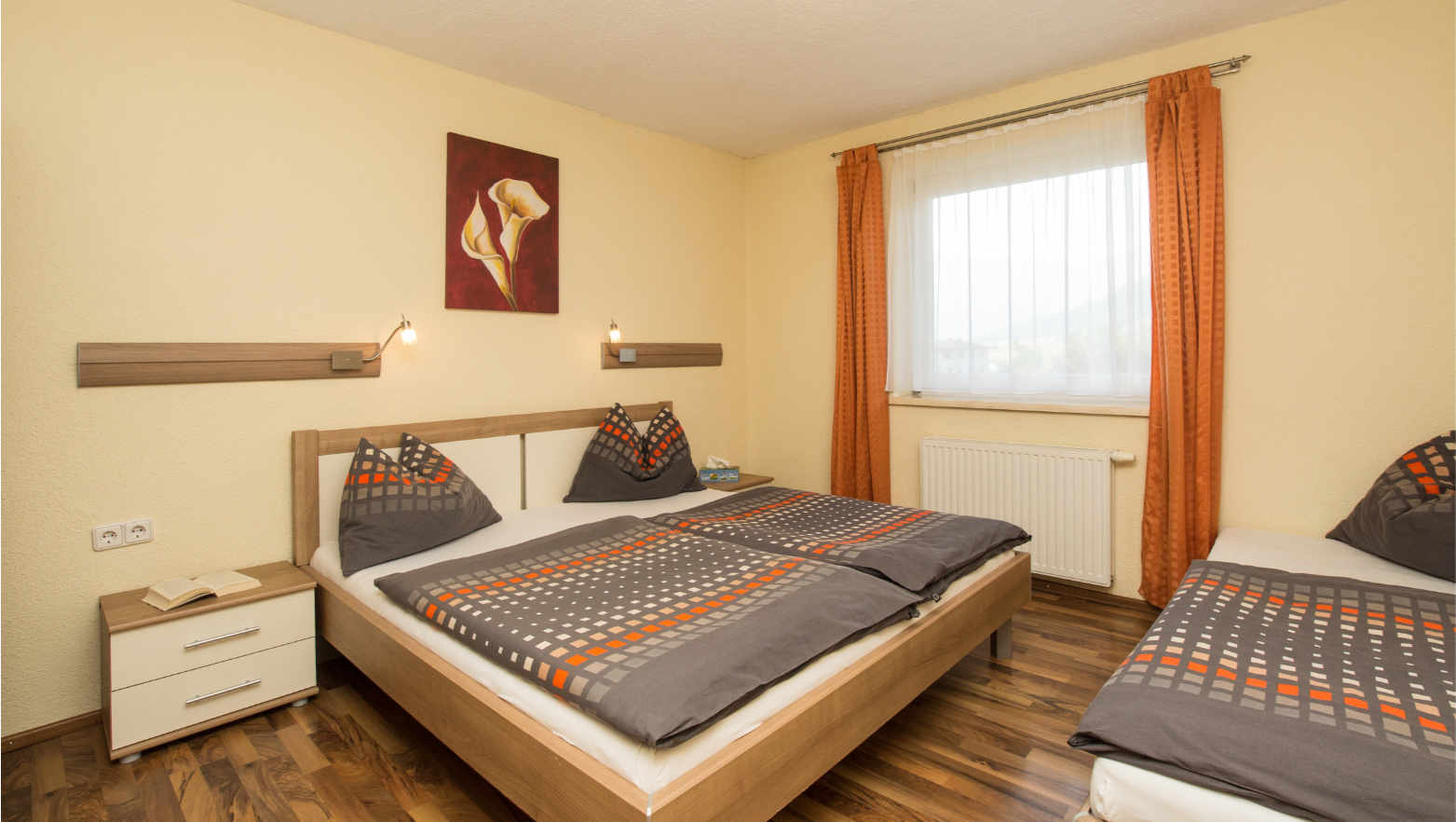 Ferienwohnungen Premstaller Radstadt Schlafzimmer