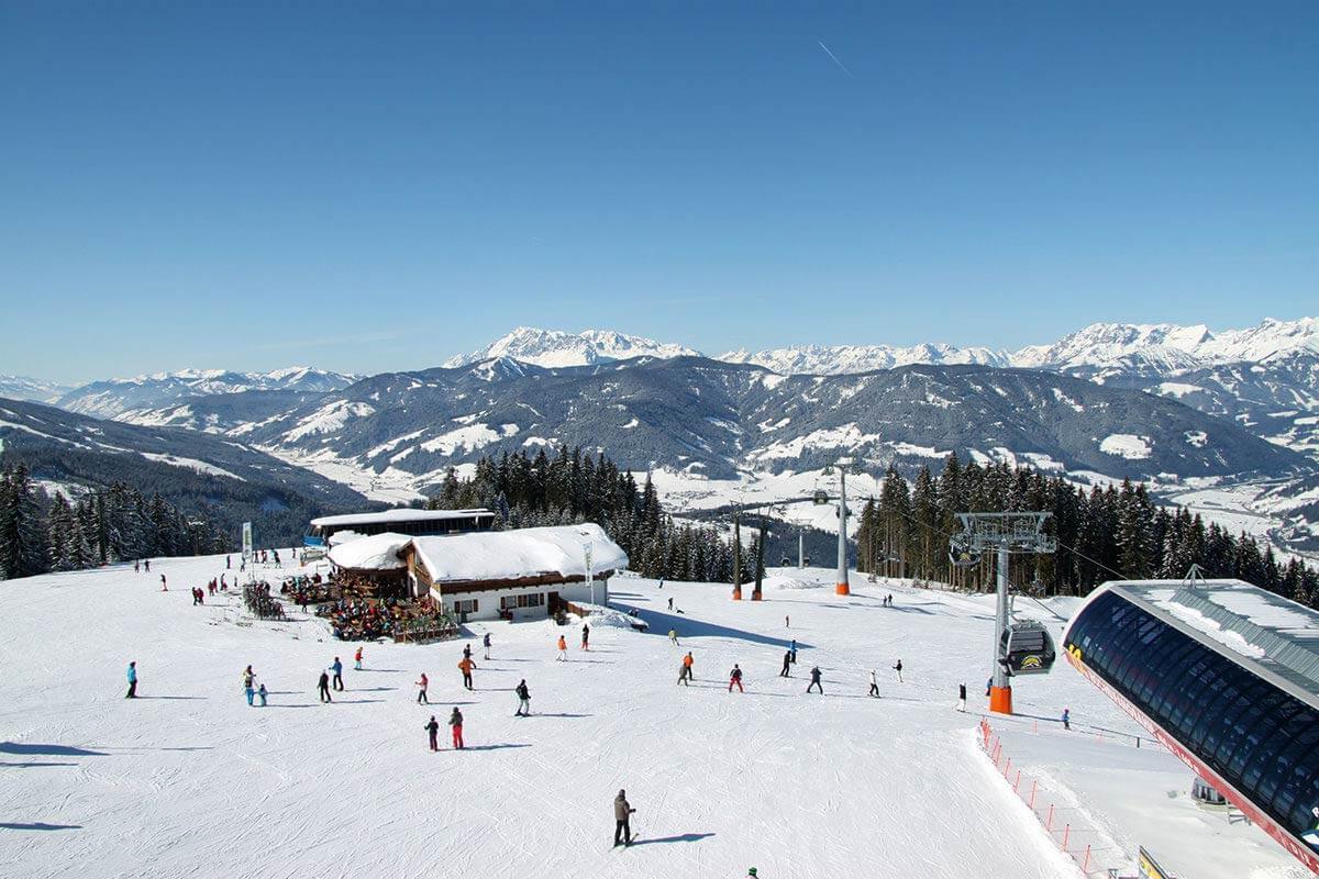 Skifahren im Skigebiet Radstadt-Altenmarkt